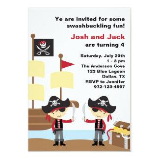 Birthday Pirates Card