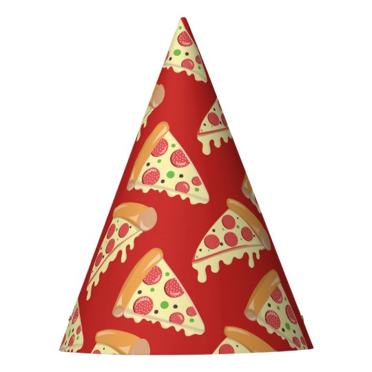 9a5d09f0b4c61 Birthday Pizza Party Party Hat