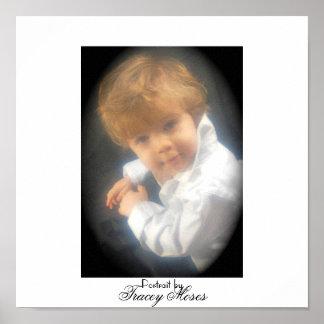 Birthday portrait poster