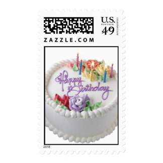birthday postage stamps