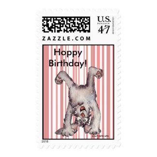 Birthday Postage Hoppy Birthday Custom Stamps