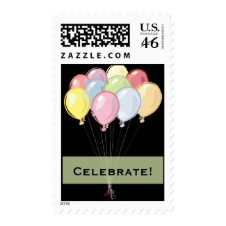 Birthday Postage Stamps stamp