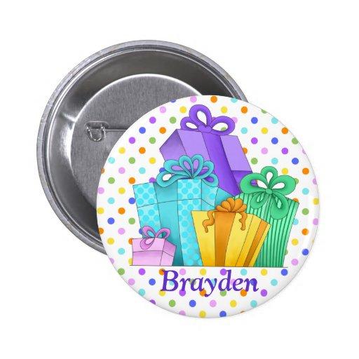 Birthday Presents Button