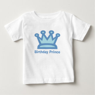 Birthday Prince Baby Boy Birthday TShirt