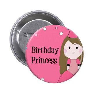 Birthday Princess 2 Inch Round Button