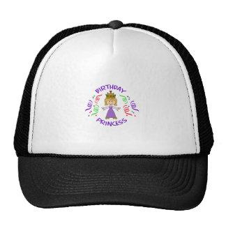 BIRTHDAY PRINCESS FULL FRONT TRUCKER HAT