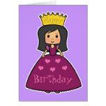 Birthday Princess Greeting Card