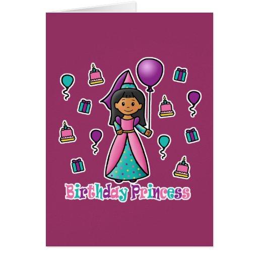 Birthday Princess Greeting Cards