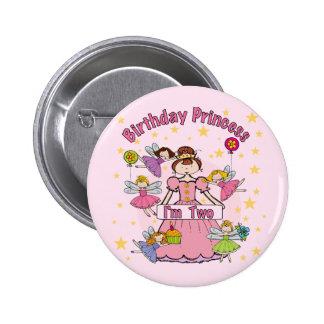 Birthday Princess I'm Two T-shirts and Gifts Pin
