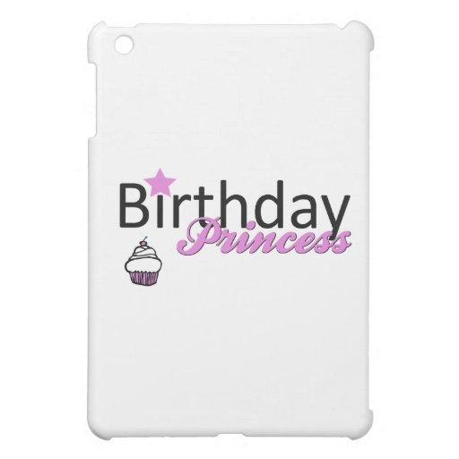 Birthday Princess iPad Mini Covers