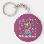 Birthday Princess Key Chain