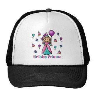 Birthday Princess Mesh Hats