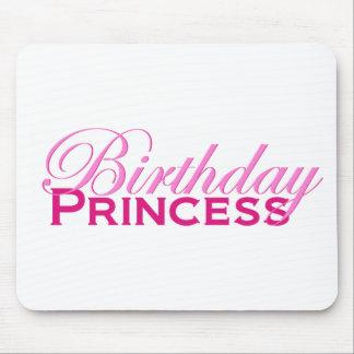 Birthday Princess Mouse Pad