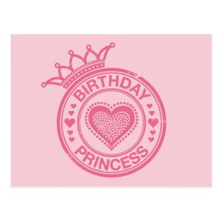 Birthday Princess - Pink - Postcards