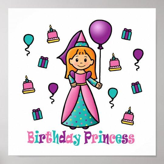 Birthday Princess Poster