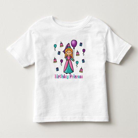 Birthday Princess Toddler T-shirt