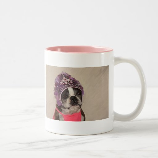 Birthday Princess Two-Tone Coffee Mug