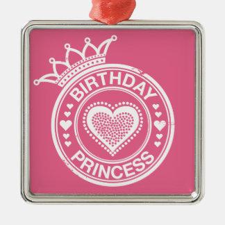 Birthday Princess -White- Ornament