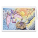 Birthday Pterodactyl Cards