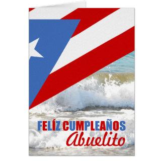 BIRTHDAY: PUERTO RICAN THEMED CARD