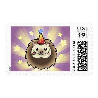 Birthday Pygmy Hedgehog Postage