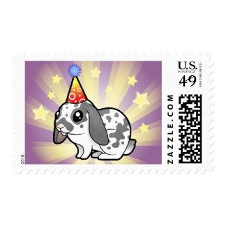 Birthday Rabbit (floppy ear smooth hair) Postage