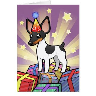 Birthday Rat Terrier / Toy Fox Terrier Card