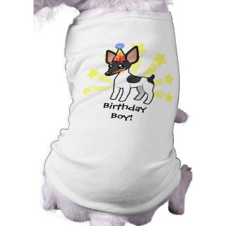 Birthday Rat Terrier / Toy Fox Terrier Shirt