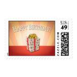 Birthday Red Postage