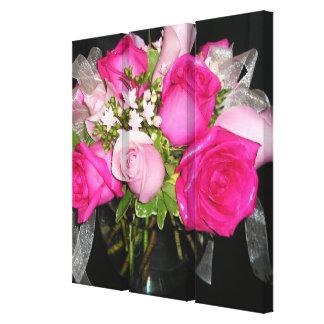 Birthday Roses Canvas Print