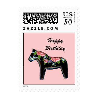 Birthday Roses Postage Stamp