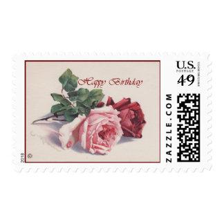Birthday Roses - Stamp