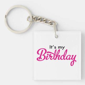birthday schlüsselanhänger