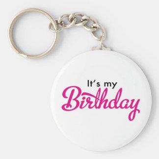 birthday schlüsselbänder