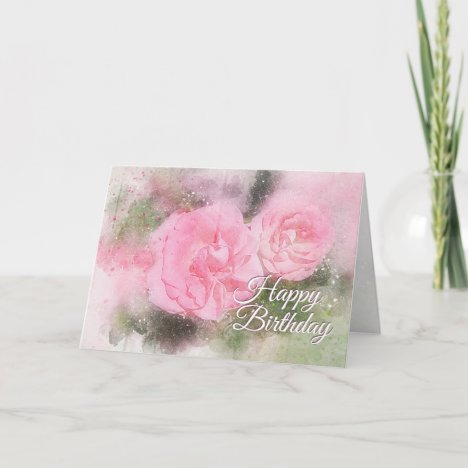 Birthday Scripture Grace and Peace to You Card