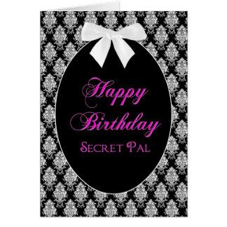 BIRTHDAY - SECRET PAL - MEMORIES CARD
