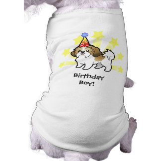 Birthday Shih Tzu (puppy cut) Shirt