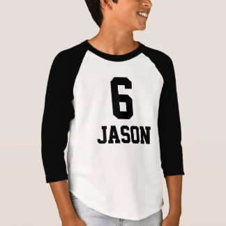 Birthday shirt 6 + Nasty