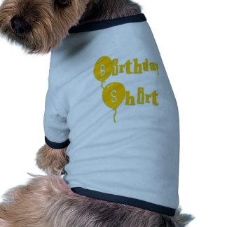 Birthday Shirt Doggie Shirt