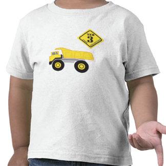 Birthday Shirt - Dump Truck Construction