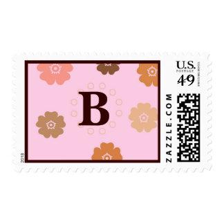 BIRTHDAY, Shower Postage Initial B... - Customized