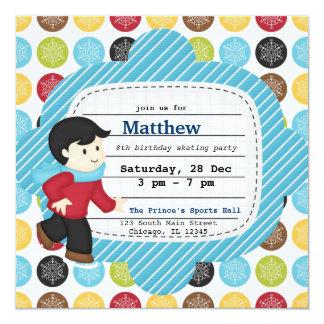 Birthday Skating (Boy) Card
