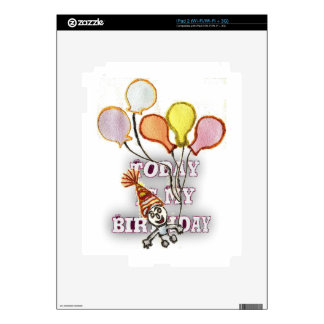 Birthday Skins For The iPad 2