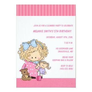 "Birthday & Slumber Party Invitations 5"" X 7"" Invitation Card"