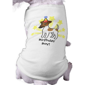 Birthday Smooth Fox Terrier Tee