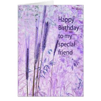 Birthday Special Friend Card