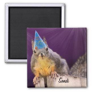 Birthday Squirrel Photo Magnets
