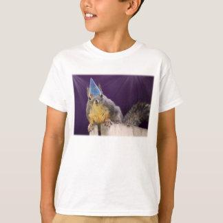 Birthday Squirrel Photo T-Shirt