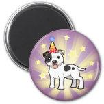 Birthday Staffordshire Bull Terrier Fridge Magnet
