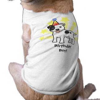 Birthday Staffordshire Bull Terrier Shirt